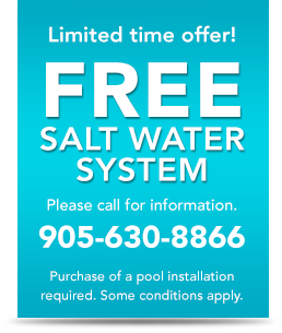 limited time offer - free salt water system